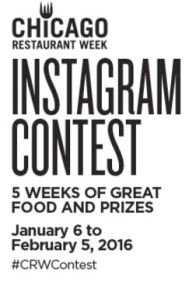 Chicago Restaurant Week Instagram Contest